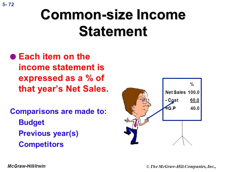 Common-size Income Statement