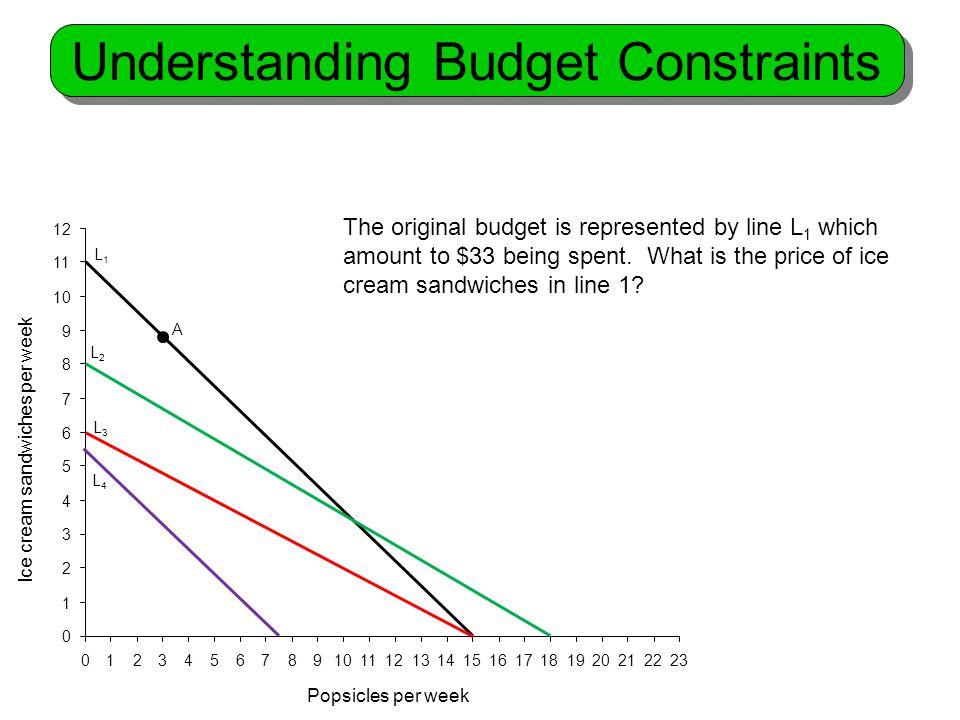 Understanding Budget Constraints