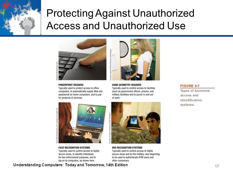 Protecting Against Unauthorized Access and Unauthorized Use