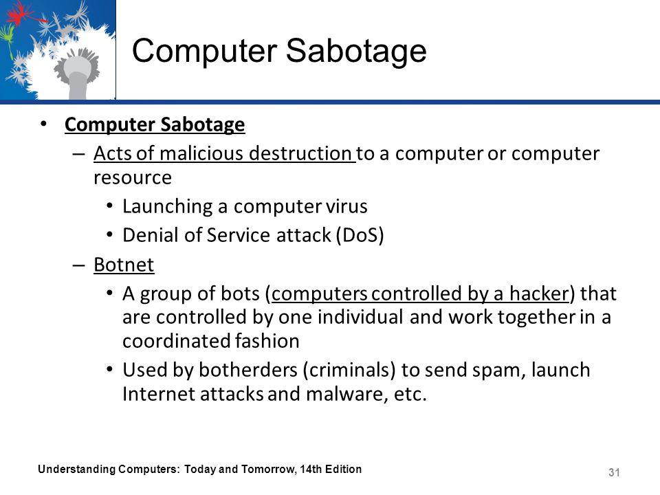 Computer Sabotage Computer Sabotage