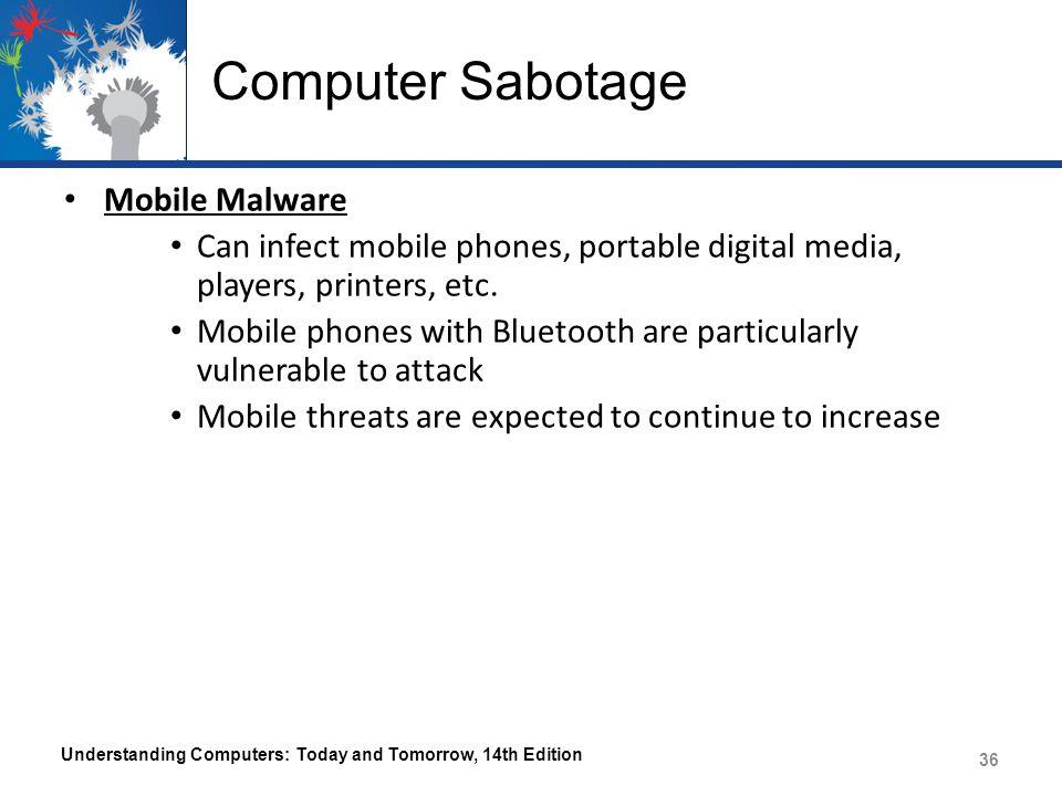 Computer Sabotage Mobile Malware