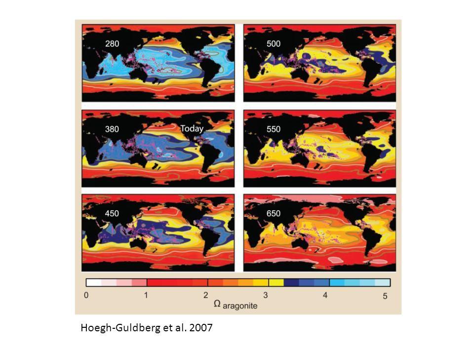 Hoegh-Guldberg et al. 2007 ----- Meeting Notes (10/27/11 08:25) -----