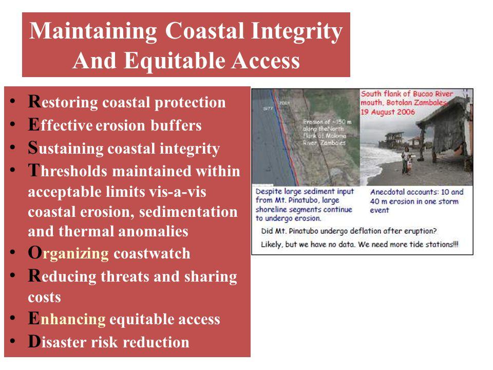 Maintaining Coastal Integrity