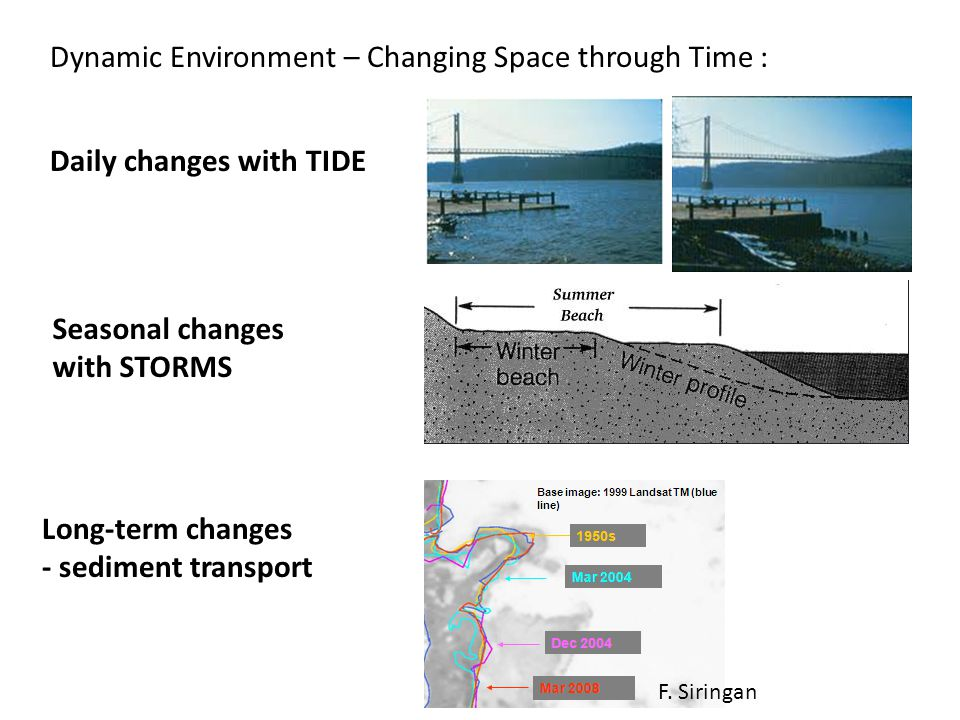 Dynamic Environment – Changing Space through Time :