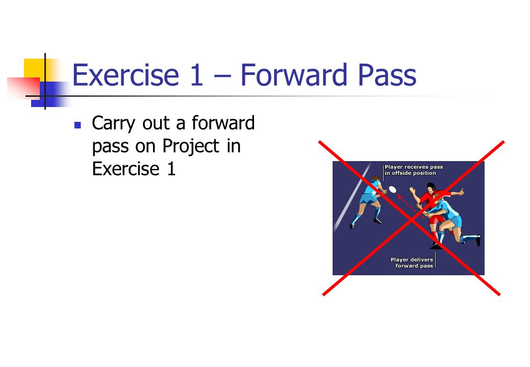 Exercise 1 – Forward Pass