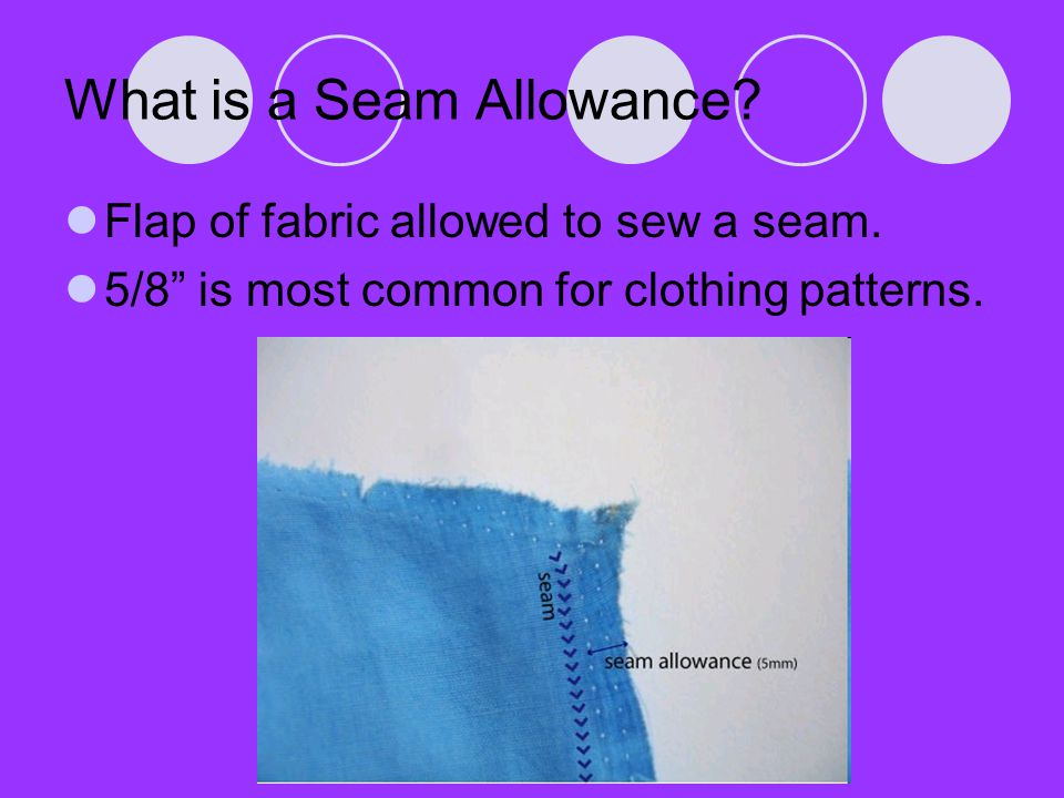 What is a Seam Allowance