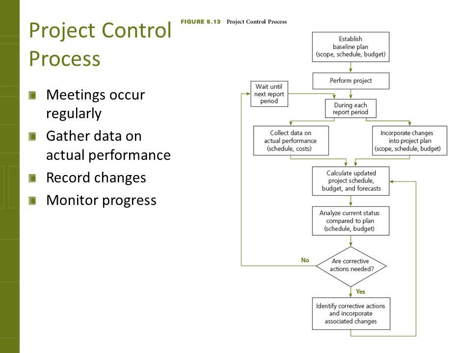 Project Control Process