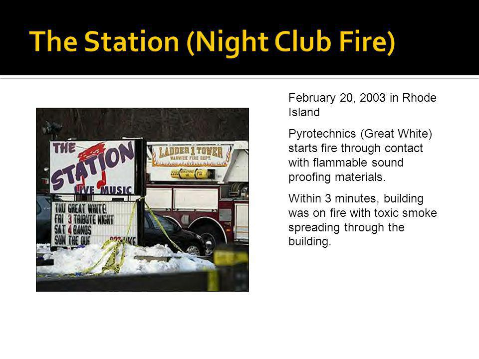The Station (Night Club Fire)