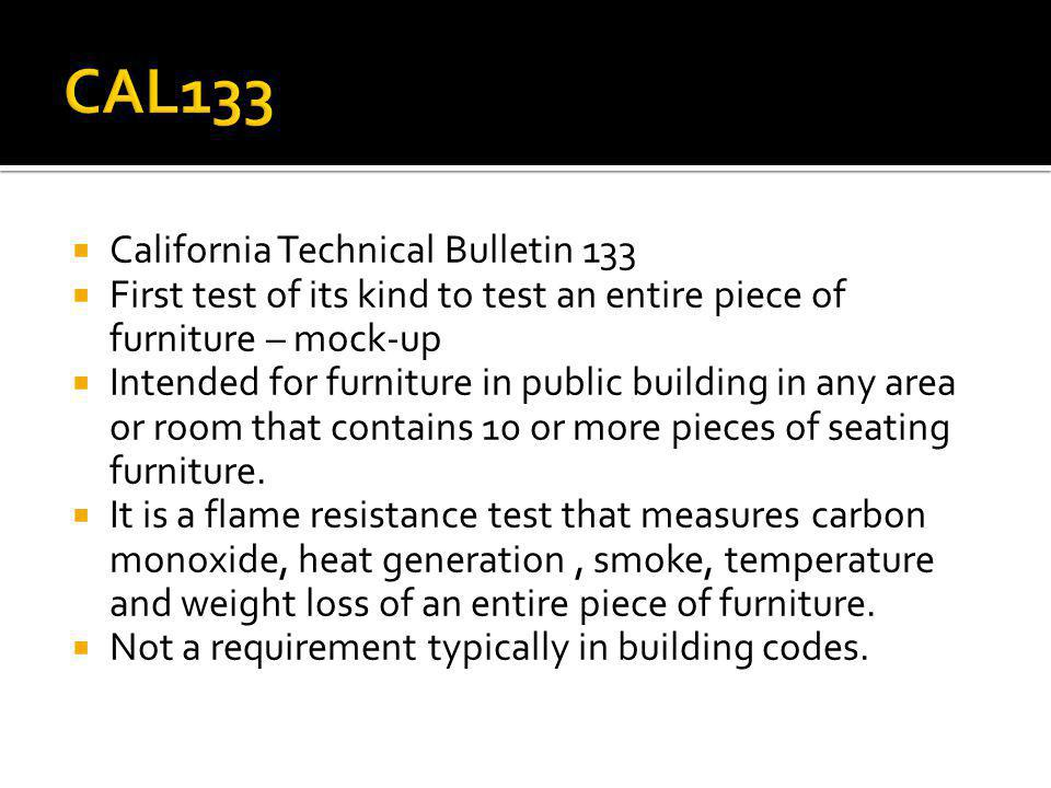 CAL133 California Technical Bulletin 133