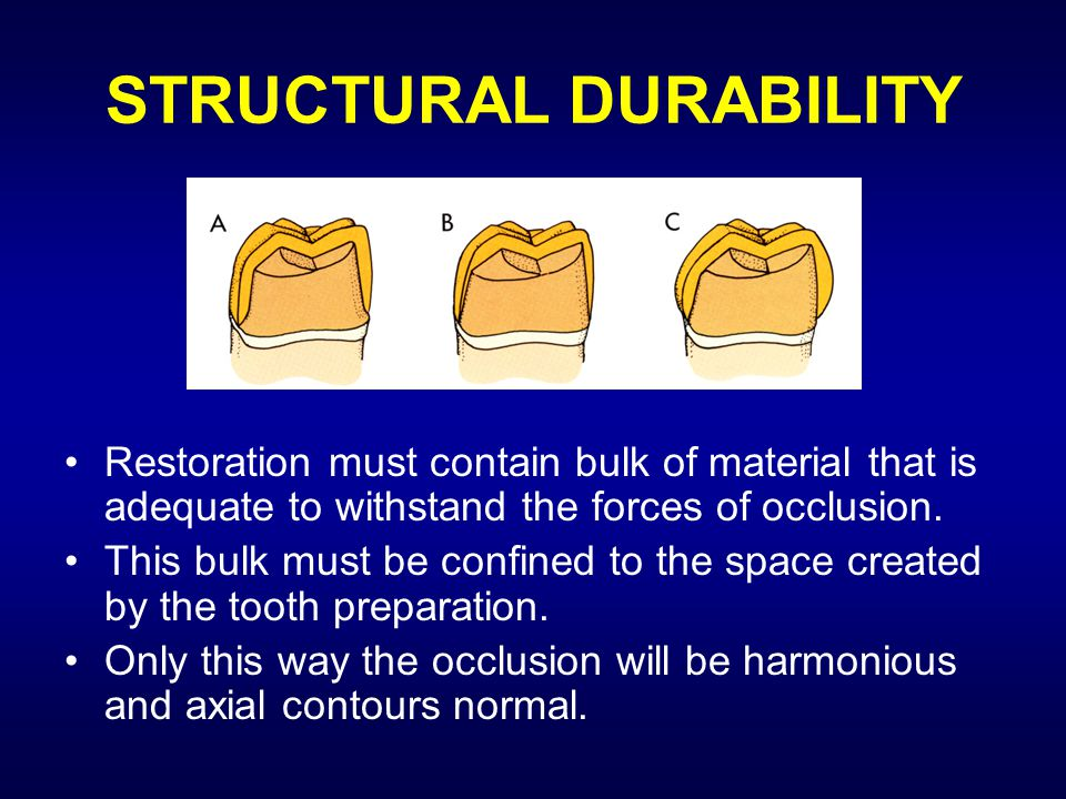 STRUCTURAL DURABILITY