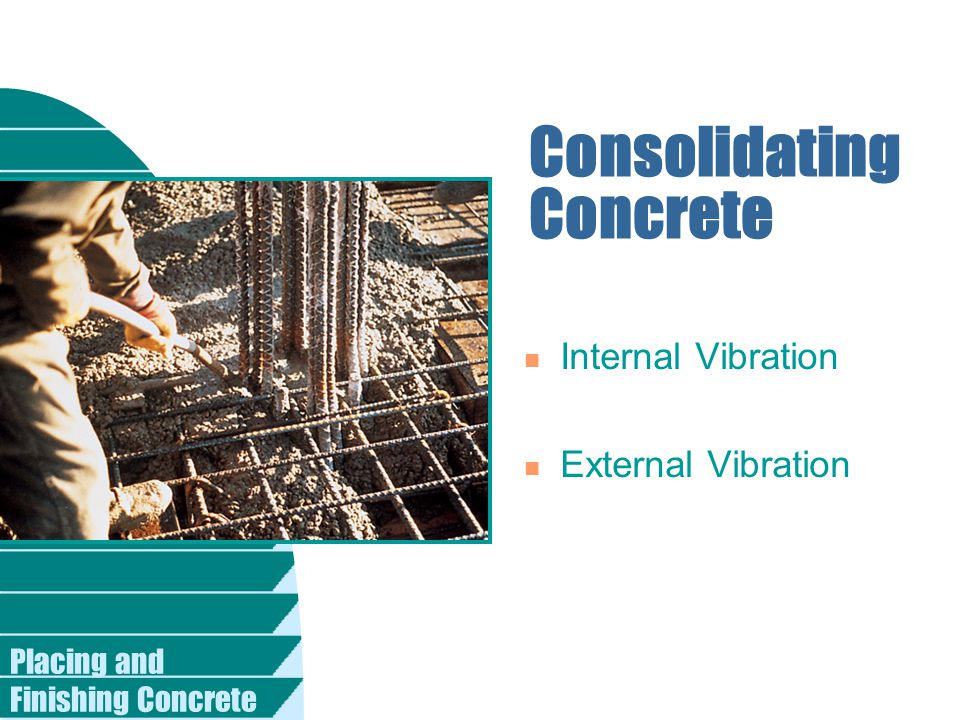 Consolidating Concrete