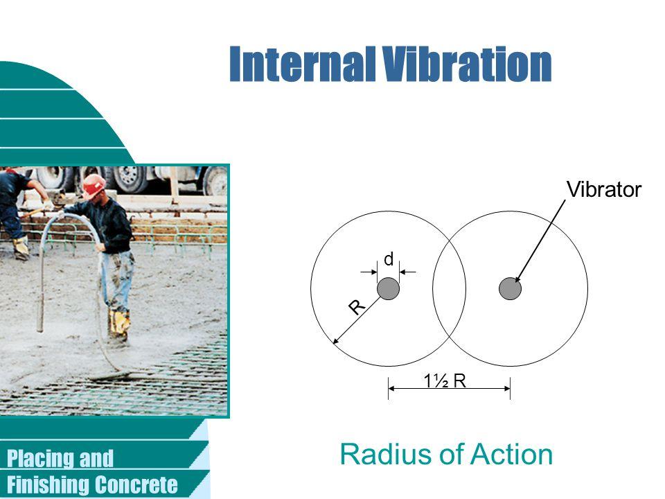 Internal Vibration Radius of Action Vibrator