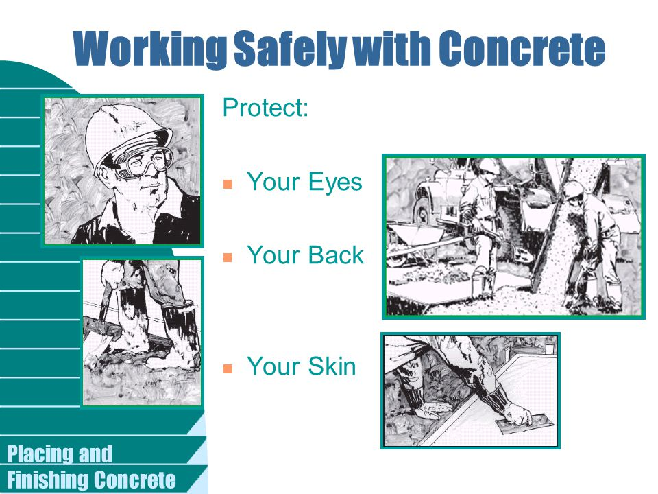 Working Safely with Concrete