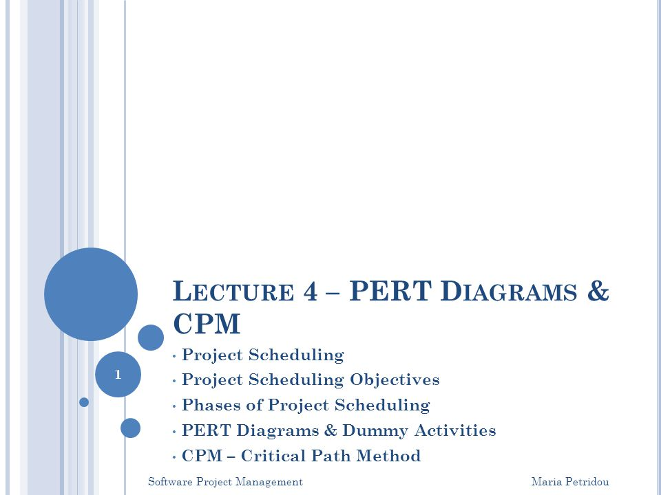Lecture 4 pert diagrams cpm ppt video online download lecture 4 pert diagrams cpm ccuart Images