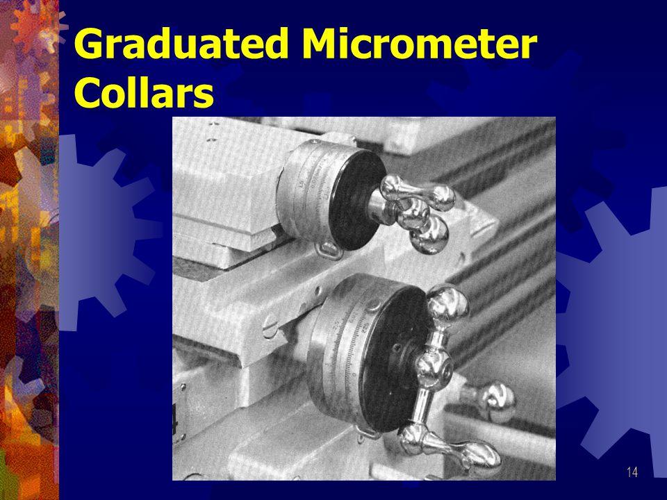 Graduated Micrometer Collars