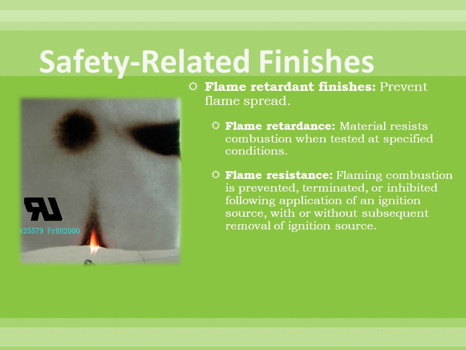 Safety-Related Finishes