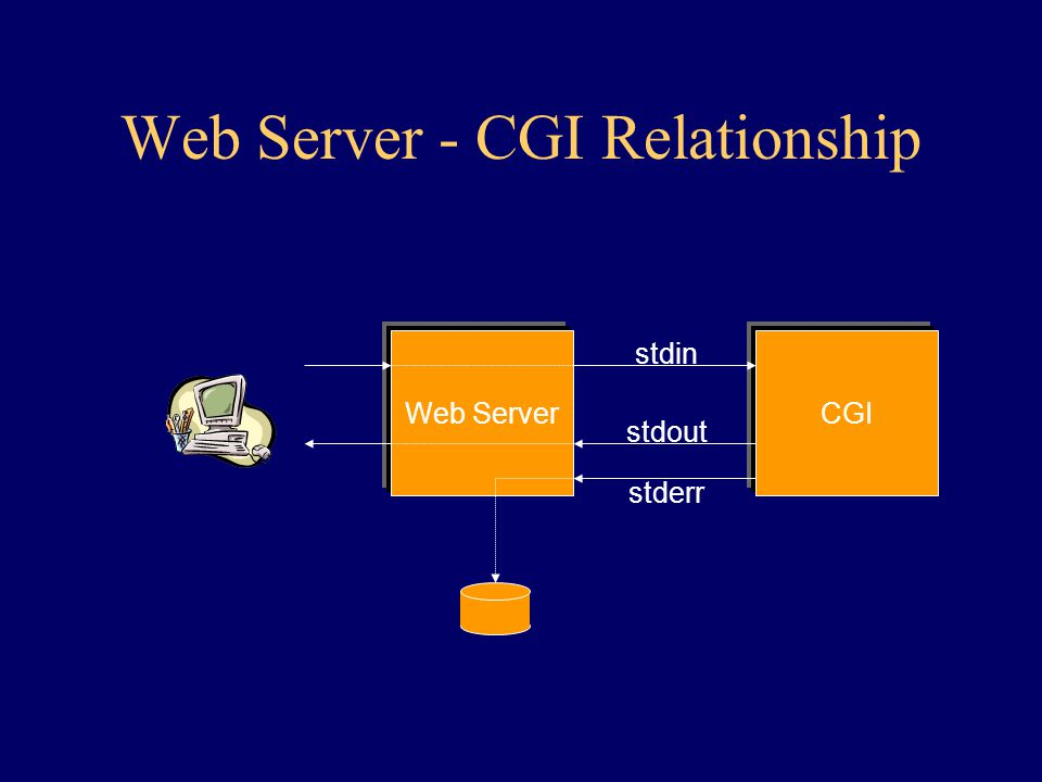 Web Server - CGI Relationship