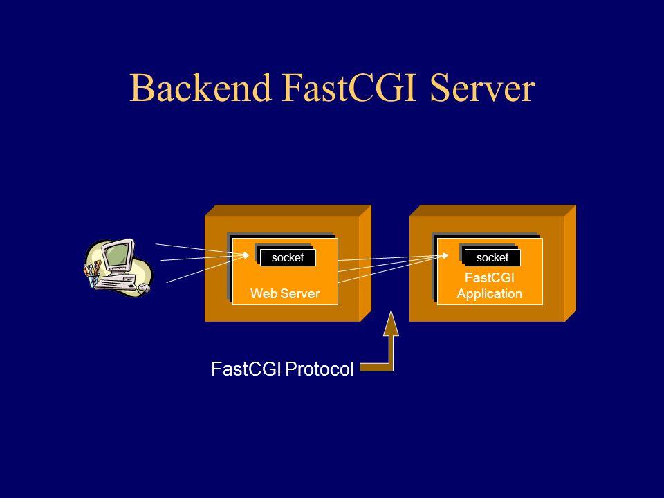 Backend FastCGI Server