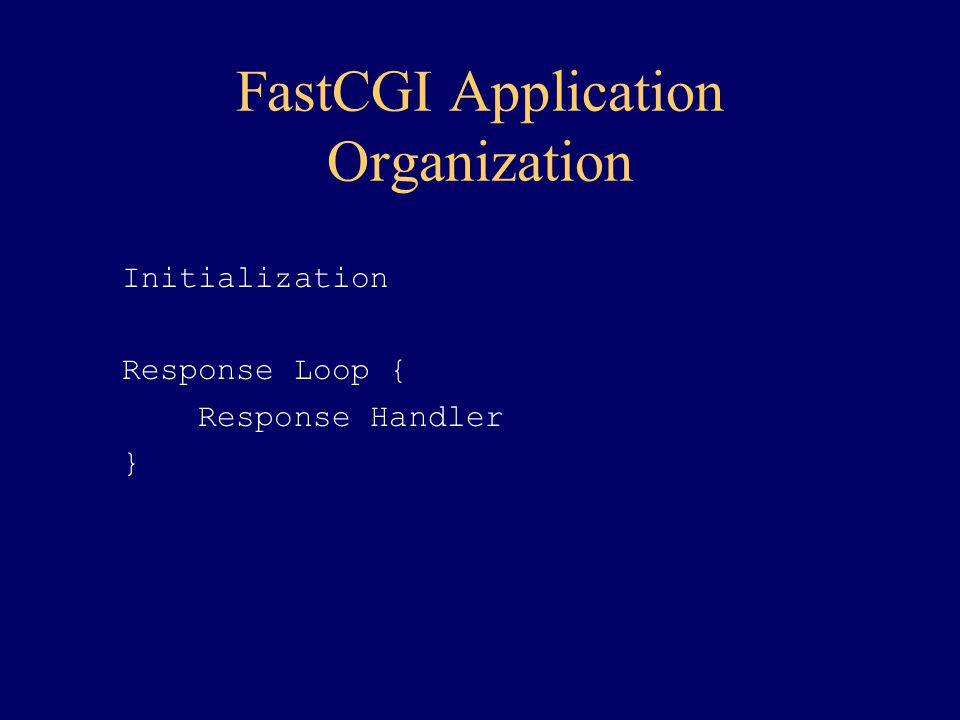 FastCGI Application Organization