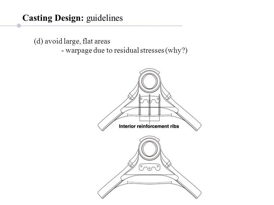 Casting Design: guidelines