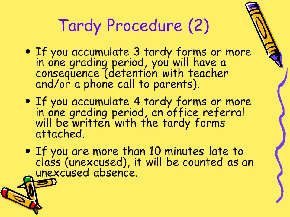 Tardy Procedure (2)