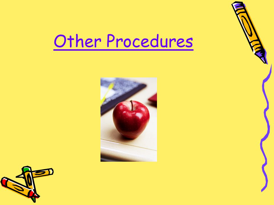 Other Procedures