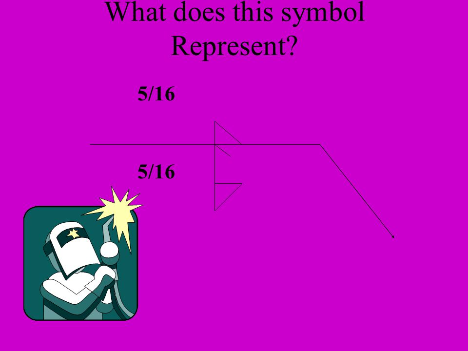 What does this symbol Represent