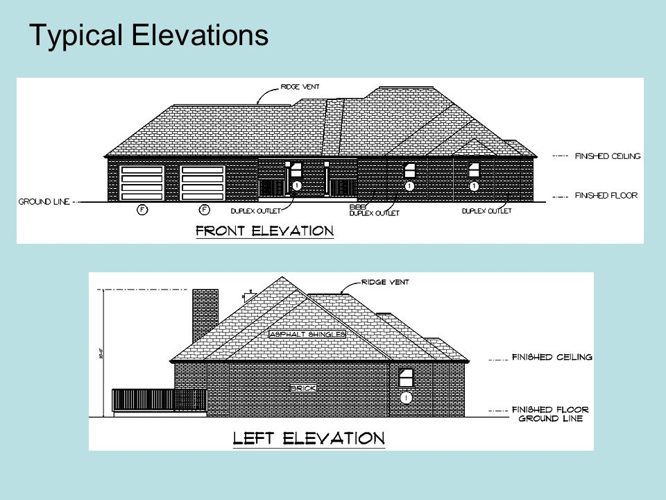 Typical Elevations