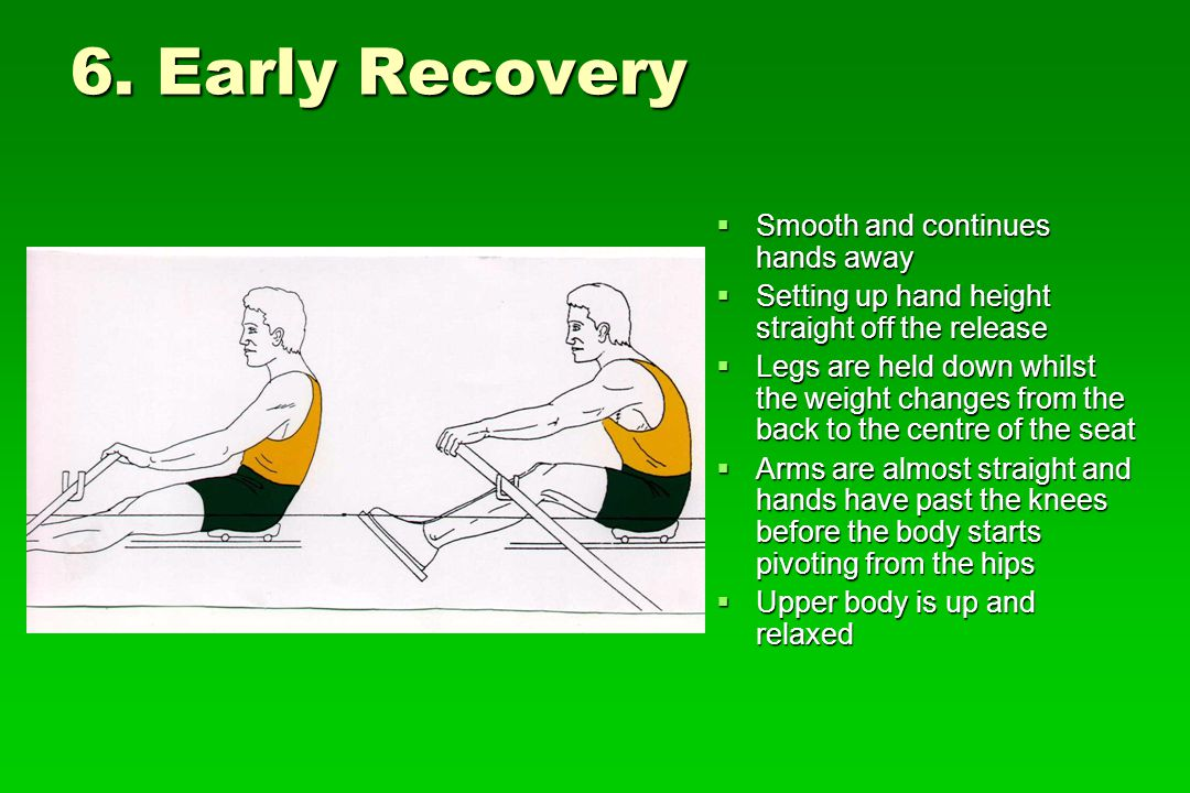 6. Early Recovery Smooth and continues hands away