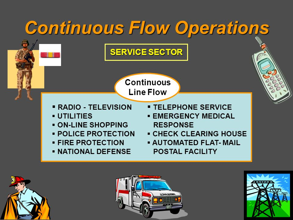 Continuous Flow Operations
