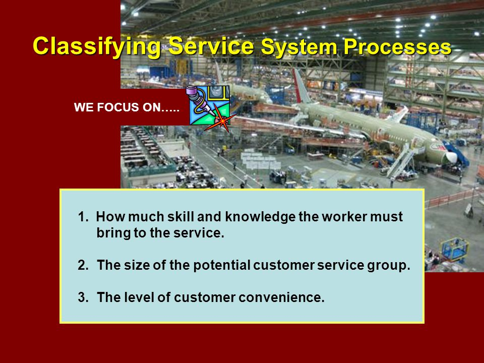 Classifying Service System Processes