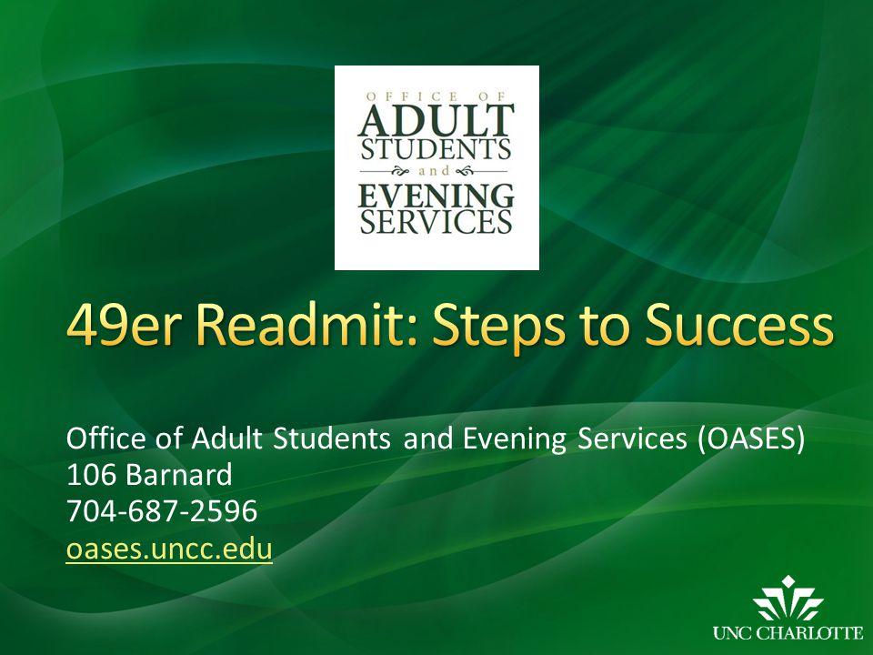 49er Readmit: Steps to Success