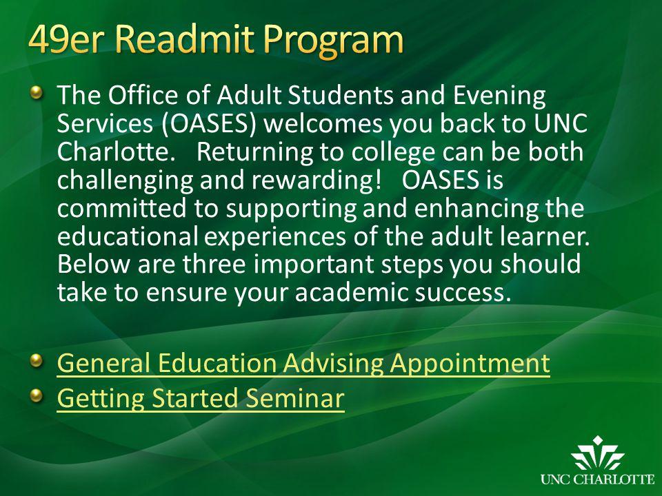 49er Readmit Program