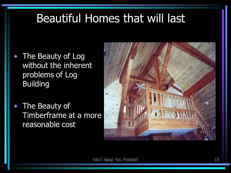 Beautiful Homes that will last