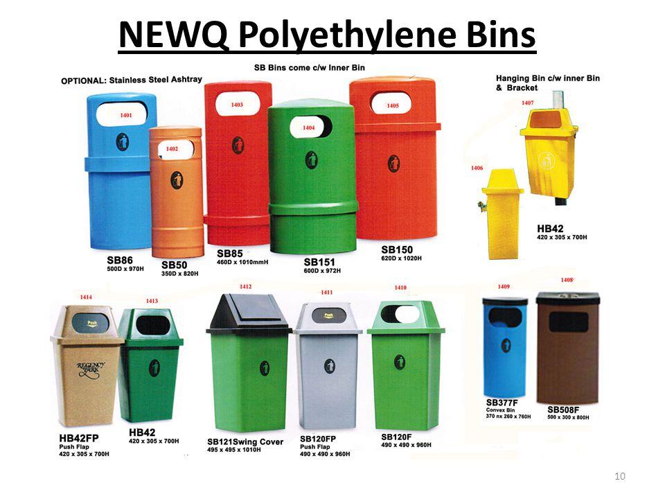 NEWQ Polyethylene Bins