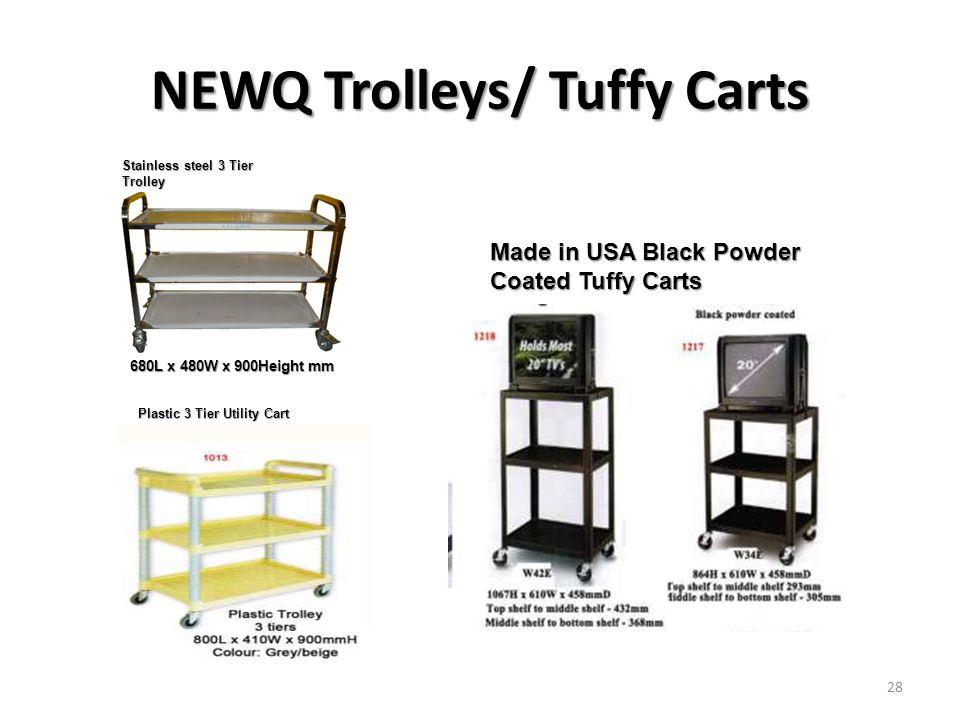 NEWQ Trolleys/ Tuffy Carts