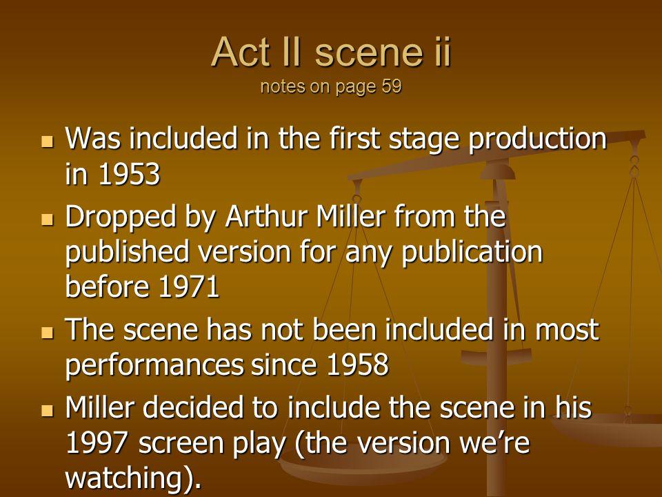Act II scene ii notes on page 59