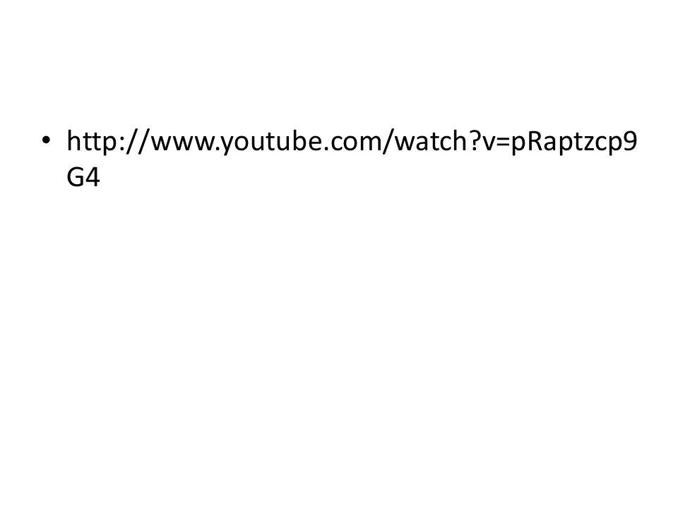 http://www.youtube.com/watch v=pRaptzcp9G4