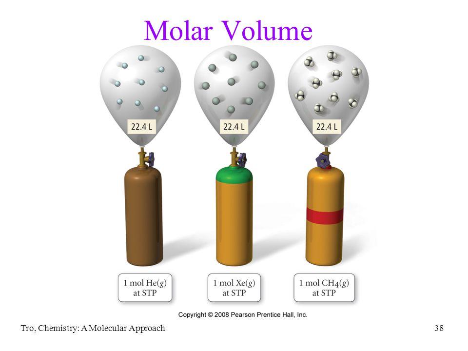 Molar Volume Tro, Chemistry: A Molecular Approach