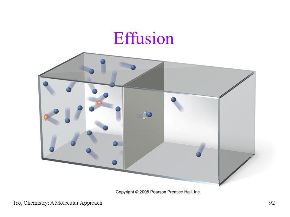 Effusion Tro, Chemistry: A Molecular Approach