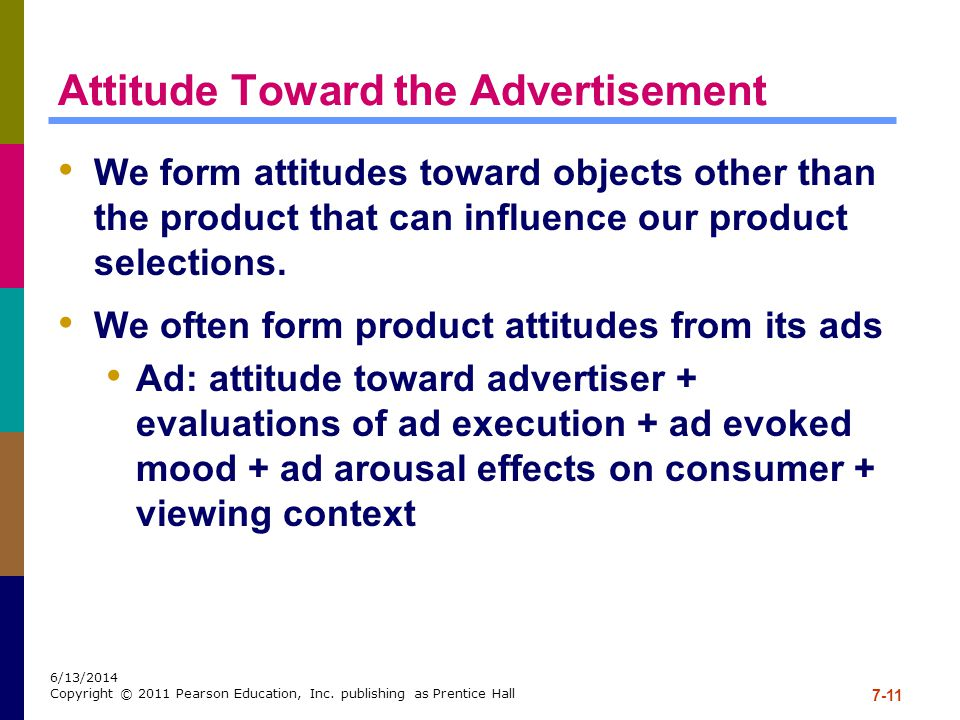 Attitude Toward the Advertisement