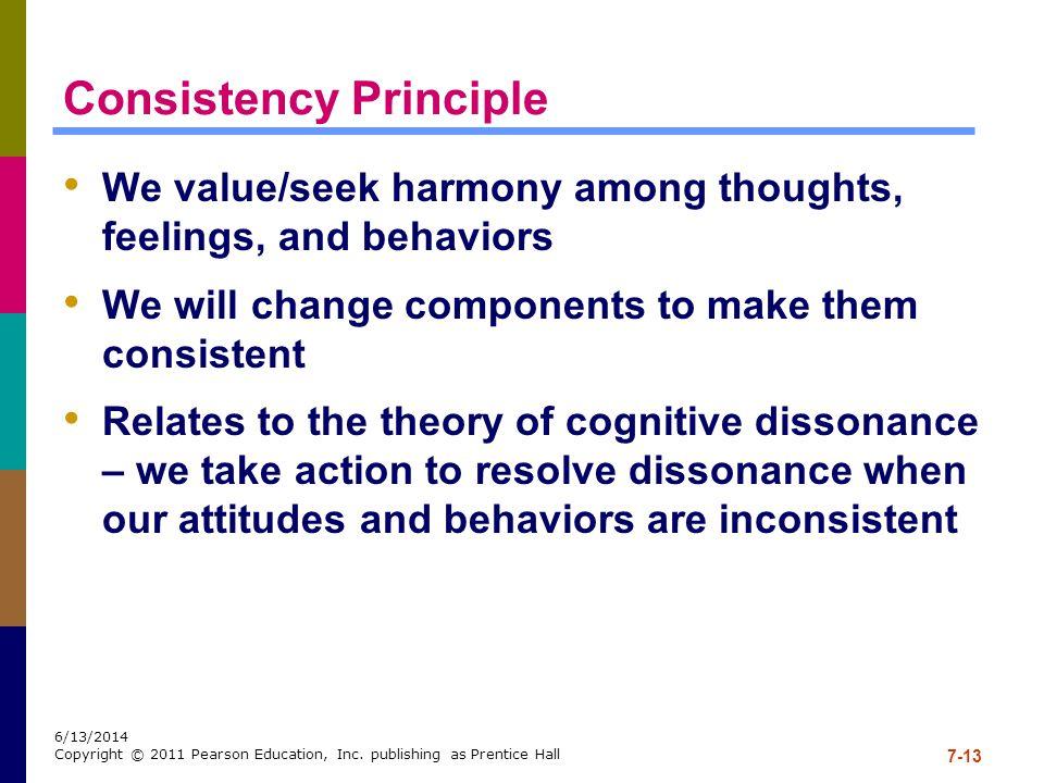 Consistency Principle