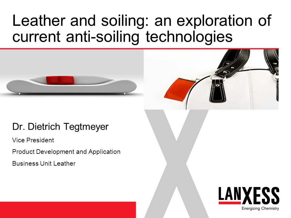 Leather and soiling: an exploration of current anti-soiling technologies