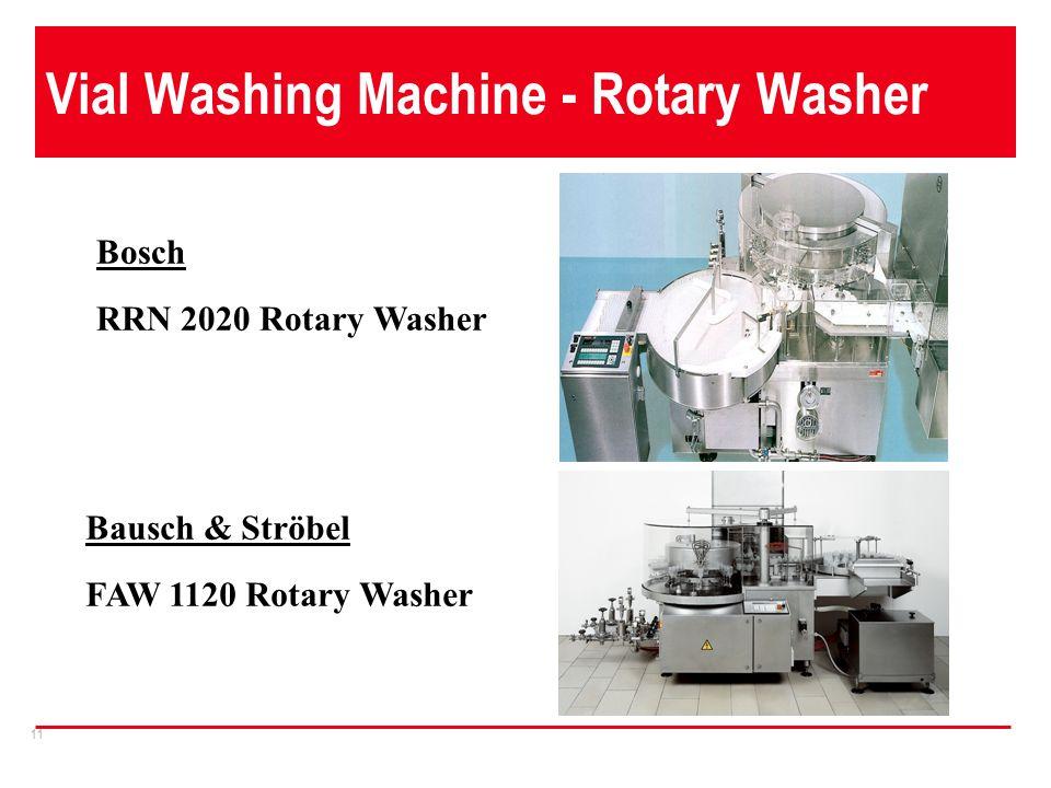 Vial Washing Machine - Rotary Washer