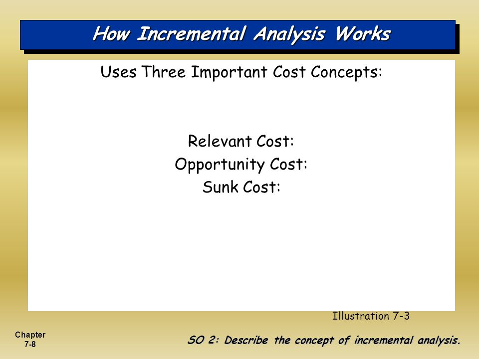 How Incremental Analysis Works