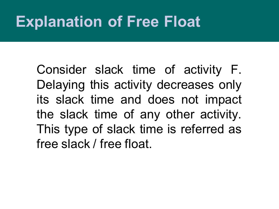 Explanation of Free Float