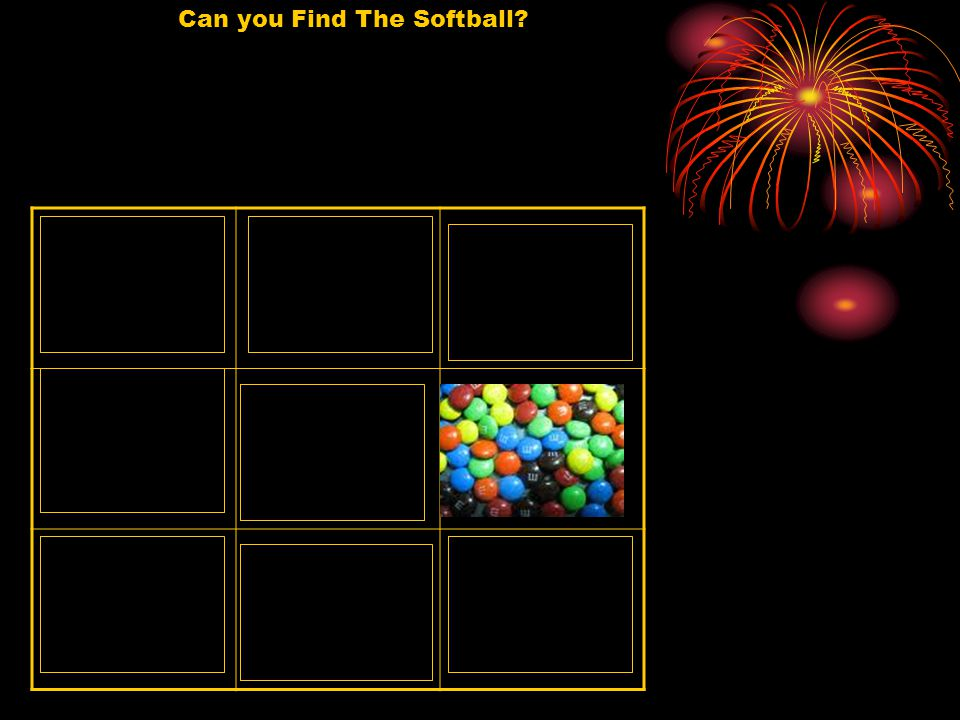 Can you Find The Softball