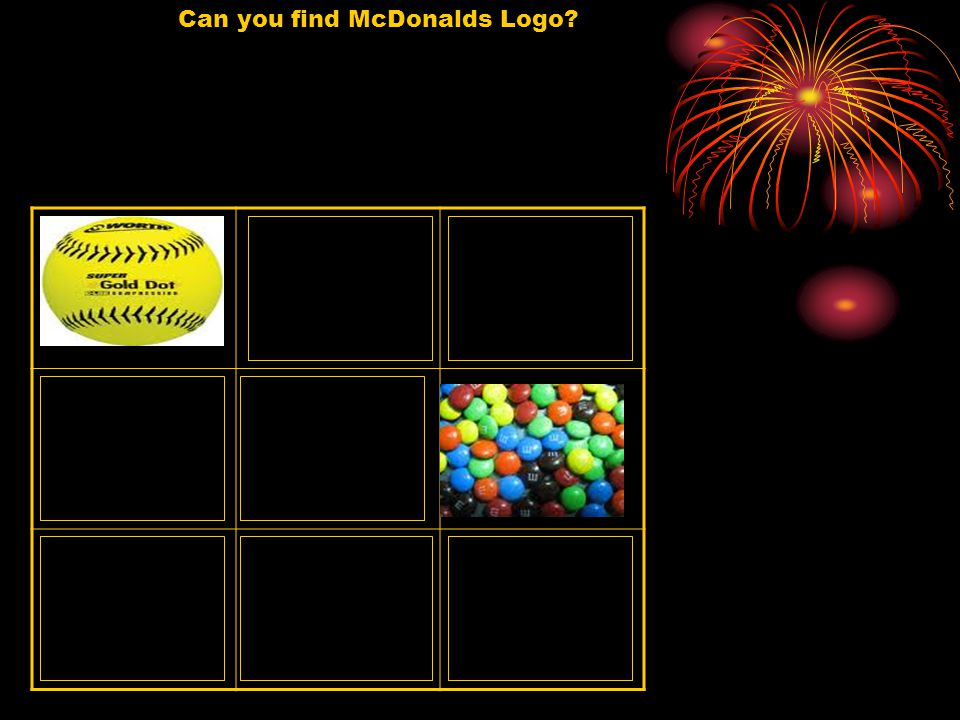Can you find McDonalds Logo