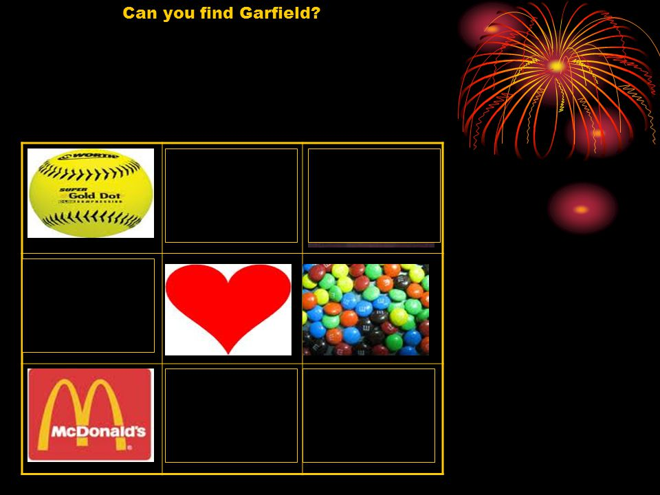 Can you find Garfield