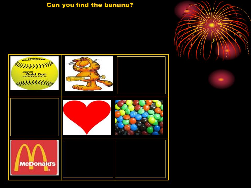 Can you find the banana